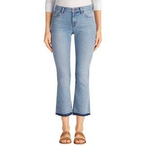 J Brand Selena Mid-Rise Crop Boot Cut Jeans EUC